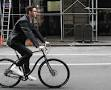 cyclist in suit